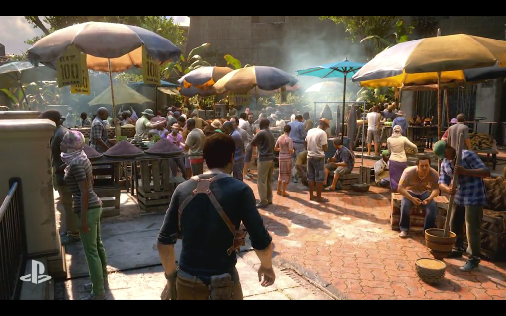 Uncharted 4 looks as sleek and action-packed as you'd expect.