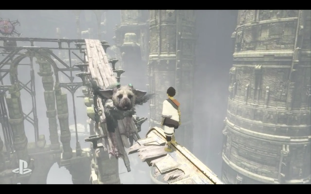 Behold, Sony fans - your Last Guardian has returned.