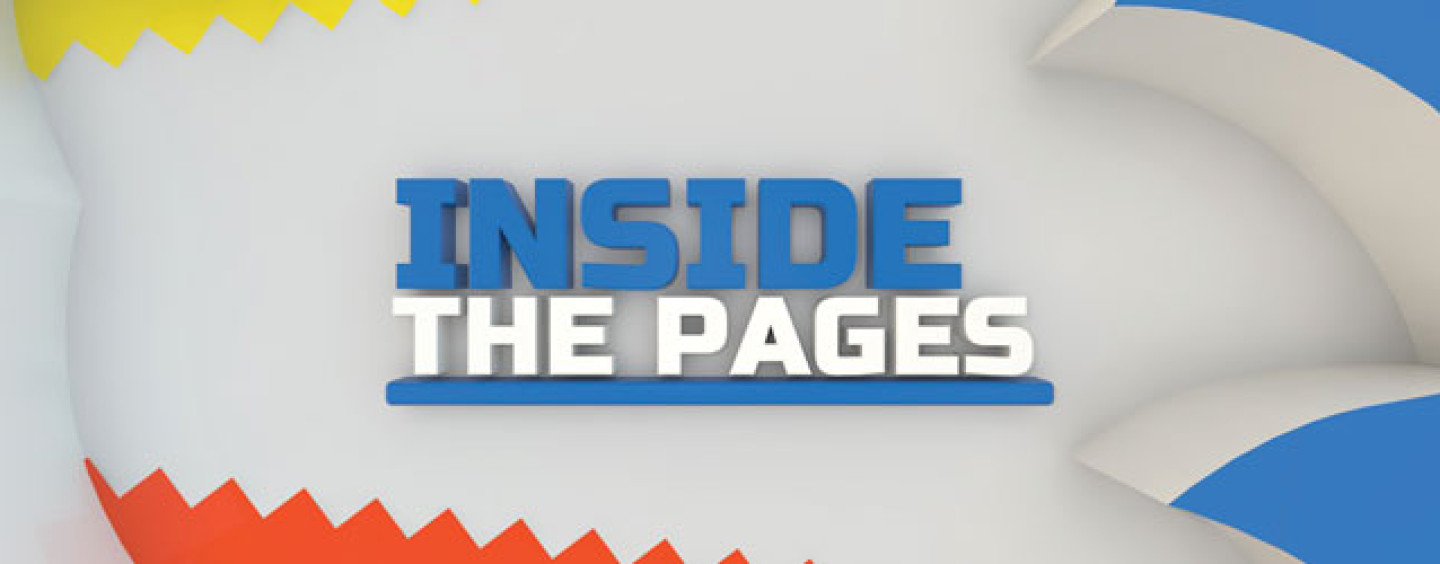 Inside The Pages: Sonic/Mega Man Worlds Collide Complete Epic