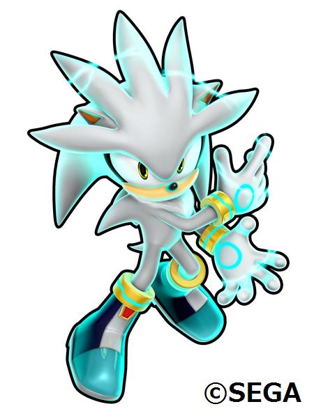 Silver - Sonic Runners 2.0 Promo Art