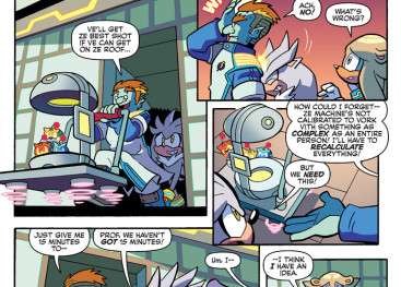 Inside The Pages: Sonic Universe #82