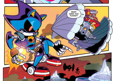 Inside The Pages: Sonic Universe #83