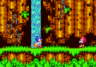 """For someonewho claims to """"not chuckle,"""" Knuckles does quite of bit of mischievous snickering in this game."""