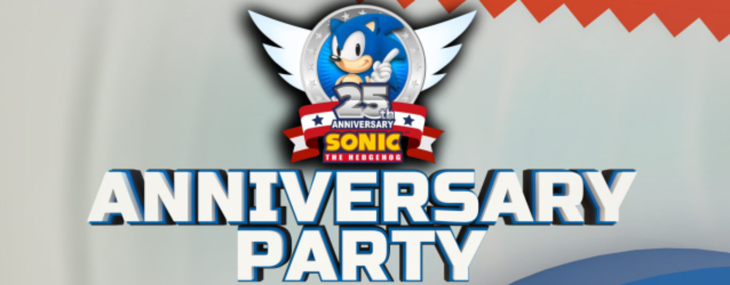 Sonic 25th Party: Live Crowd Reactions