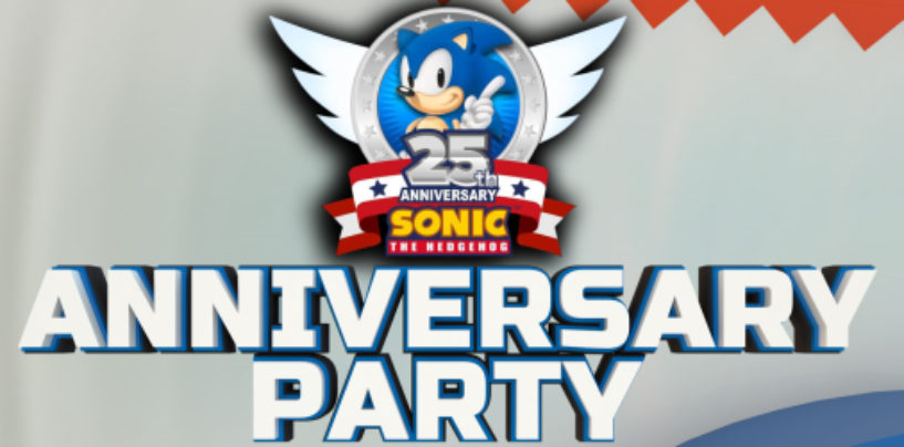 Sonic 25th Party: Sonic Mania Announced For Xbox One, PC, and PS4