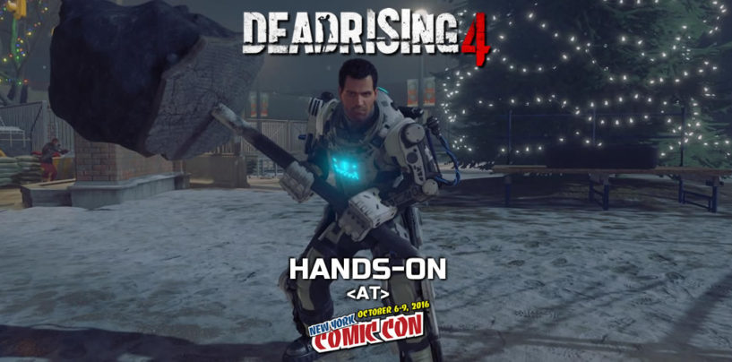 Hands-On: Dead Rising 4