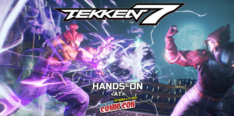 Hands-On: Tekken 7