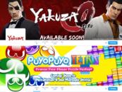 Official English Yakuza and Puyo Puyo Accounts For Social Media Live