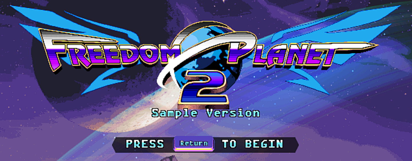 Freedom Planet 2 Playable Sample Released