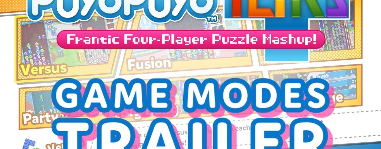 Puyo Puyo Tetris New Trailer + Release Dates