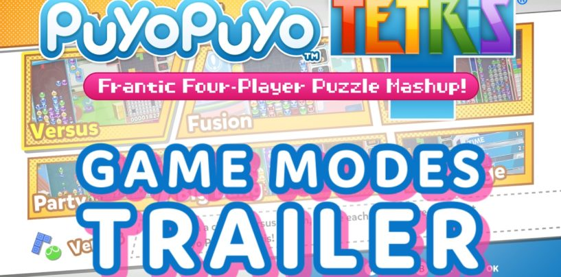 Puyo Puyo Tetris New Trailer + Release Dates