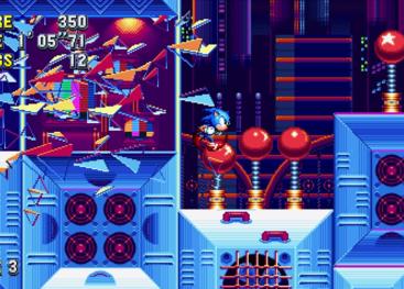 Sonic Mania Release Date Screenshots