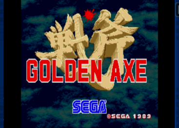 Golden Axe in SEGA Forever