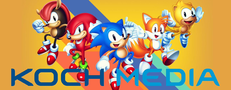 Koch Media's Sonic Mania Plus launch event in Spain recap