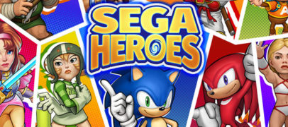 SEGA Heroes Out Now On Mobile Devices
