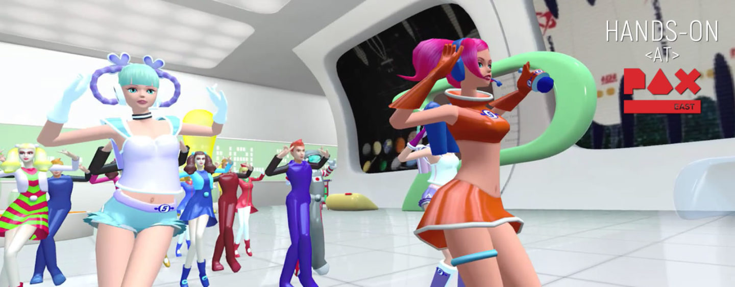 Hands-On: Space Channel 5 VR