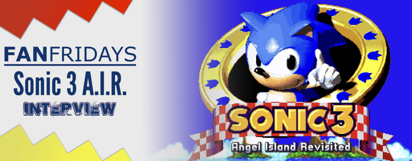 Fan Fridays: Sonic 3 A.I.R. Interview