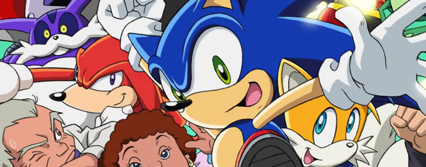 First 2 Seasons of Sonic X Now on Netflix