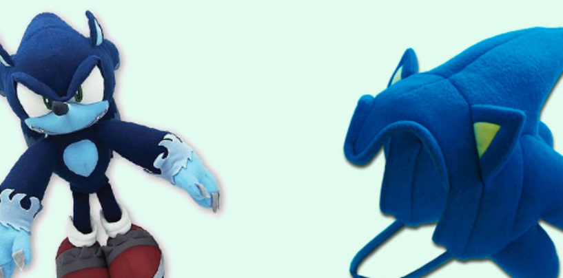 New, Re-Issued Sonic Merch from GE Entertainment Up for Pre-Order